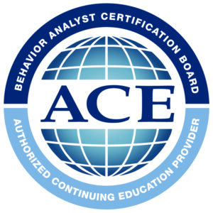 BACB - Behavior Analyst Certification Board, Authorized Continued Education Provider, ACD